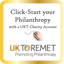 UKToremet advert promoting philanthropy